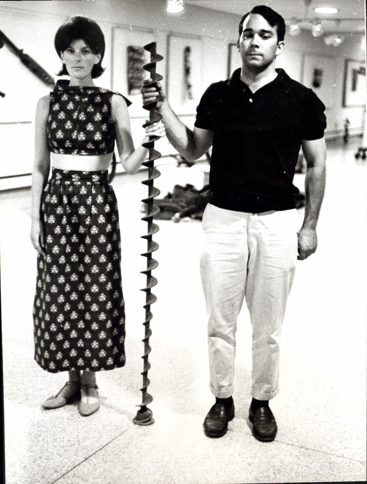 Dick and Karen Venezky (c1967)