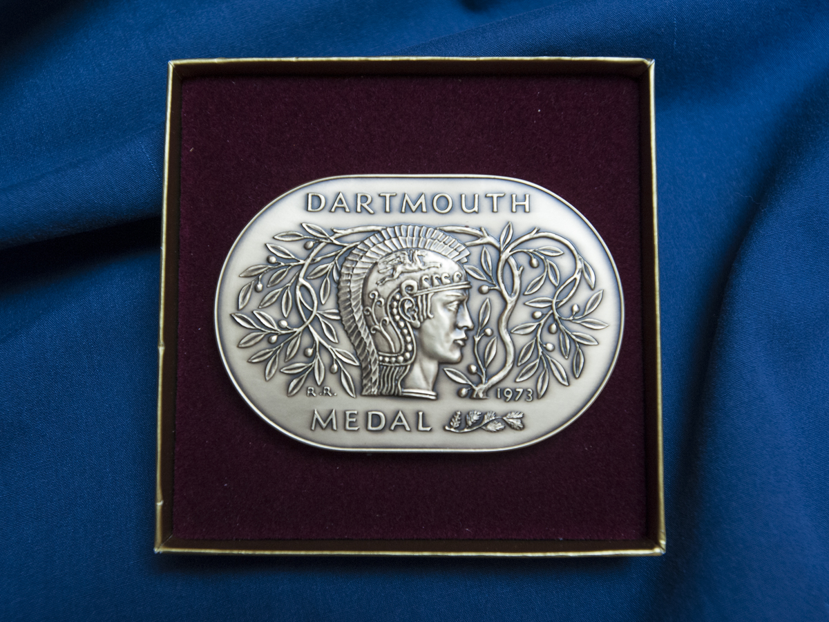 Dartmouth Medal front 6 30 13 1