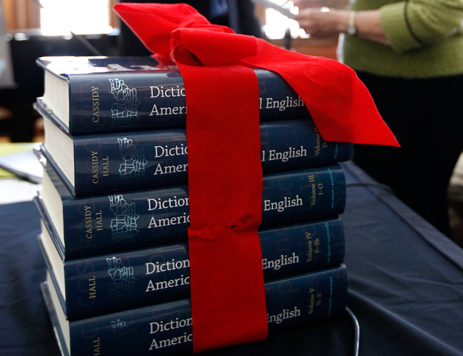 NEH 5 vols with red bow 0