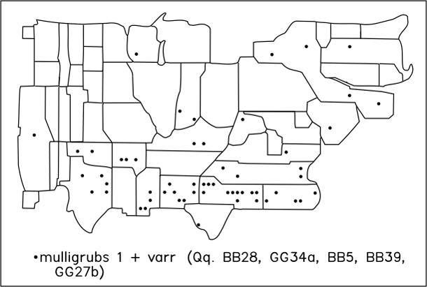 mulligrubs 1 + varr (Qq. BB28, GG34a, BB5, BB39,     GG27b)